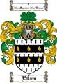 Thumbnail Ellam Family Crest  Ellam Coat of Arms