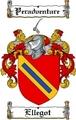 Thumbnail Ellegot Family Crest  Ellegot Coat of Arms
