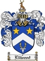 Thumbnail Ellwood Family Crest Ellwood Coat of Arms Digital Download