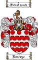 Thumbnail Emerye Family Crest  Emerye Coat of Arms