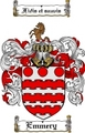 Thumbnail Emmery Family Crest  Emmery Coat of Arms
