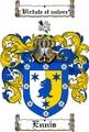Thumbnail Ennis Family Crest  Ennis Coat of Arms