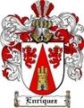 Thumbnail Enriquez Family Crest  Enriquez Coat of Arms