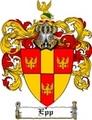 Thumbnail Epp Family Crest  Epp Coat of Arms