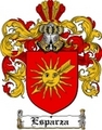 Thumbnail Esparza Family Crest  Esparza Coat of Arms