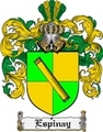 Thumbnail Espinay Family Crest  Espinay Coat of Arms