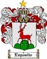 Thumbnail Esposito Family Crest  Esposito Coat of Arms