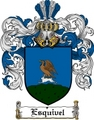 Thumbnail Esquivel Family Crest  Esquivel Coat of Arms