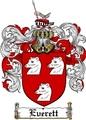 Thumbnail Everett Family Crest  Everett Coat of Arms