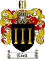 Thumbnail Ezell Family Crest  Ezell Coat of Arms