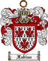 Thumbnail Fabian Family Crest Fabian Coat of Arms Digital Download