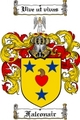 Thumbnail Falconair Family Crest  Falconair Coat of Arms