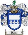 Thumbnail Fenn Family Crest Fenn Coat of Arms Digital Download