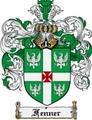 Thumbnail Fenner Family Crest Fenner Coat of Arms Digital Download