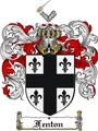 Thumbnail Fenton Family Crest  Fenton Coat of Arms