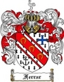 Thumbnail Ferrar Family Crest Ferrar Coat of Arms Digital Download