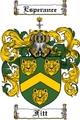 Thumbnail Fitt Family Crest Fitt Coat of Arms Digital Download