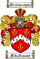 Thumbnail Fitzarnold Family Crest Fitzarnold Coat of Arms Digital Download