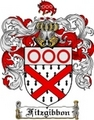 Thumbnail Fitzgibbon Family Crest  Fitzgibbon Coat of Arms