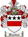 Thumbnail Flanders Family Crest Flanders Coat of Arms Digital Download