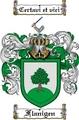 Thumbnail Flanigen Family Crest  Flanigen Coat of Arms