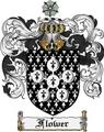 Thumbnail Flower Family Crest Flower Coat of Arms Digital Download