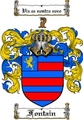 Thumbnail Fontain Family Crest  Fontain Coat of Arms