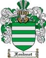 Thumbnail Fontenot Family Crest  Fontenot Coat of Arms