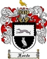 Thumbnail Forde Family Crest  Forde Coat of Arms