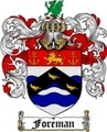 Thumbnail Foreman Family Crest  Foreman Coat of Arms