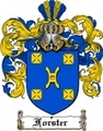 Thumbnail Forster Family Crest  Forster Coat of Arms