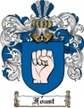 Thumbnail Foust Family Crest  Foust Coat of Arms