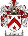 Thumbnail Frances Family Crest Frances Coat of Arms Digital Download