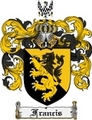 Thumbnail Francis Family Crest Francis Coat of Arms Digital Download