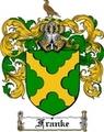 Thumbnail Franke Family Crest  Franke Coat of Arms