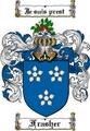 Thumbnail Frasher Family Crest  Frasher Coat of Arms