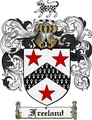 Thumbnail Freeland Family Crest Freeland Coat of Arms Digital Download