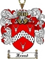 Thumbnail Frend Family Crest  Frend Coat of Arms
