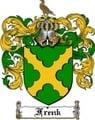 Thumbnail Frenk Family Crest  Frenk Coat of Arms