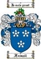 Thumbnail Fresall Family Crest  Fresall Coat of Arms