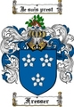 Thumbnail Fresser Family Crest  Fresser Coat of Arms