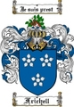 Thumbnail Frichell Family Crest  Frichell Coat of Arms