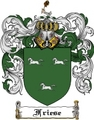 Thumbnail Friese Family Crest Friese Coat of Arms Digital Download