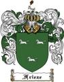 Thumbnail Frieze Family Crest Frieze Coat of Arms Digital Download