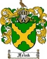 Thumbnail Frink Family Crest  Frink Coat of Arms