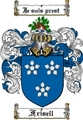 Thumbnail Frisell Family Crest  Frisell Coat of Arms