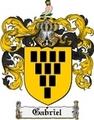 Thumbnail Gabriel Family Crest Gabriel Coat of Arms Digital Download