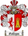 Thumbnail Gallegos Family Crest / Gallegos Coat of Arms