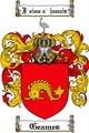 Thumbnail Geames-2 Family Crest Geames-2 Coat of Arms Digital Download
