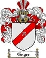 Thumbnail Geiger Family Crest  Geiger Coat of Arms